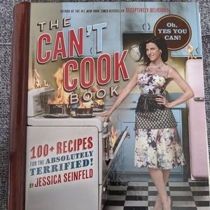 Other - Like new - the can't cook cookbook